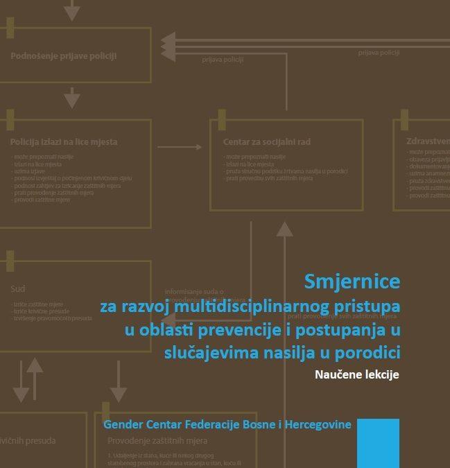 Smjernice za razvoj multidisciplinarnog pristupa