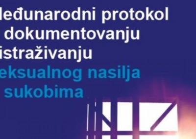 Međunarodni protokol o dokumentovanju i istraživanju slučajeva seksualnog nasilja u konfliktu