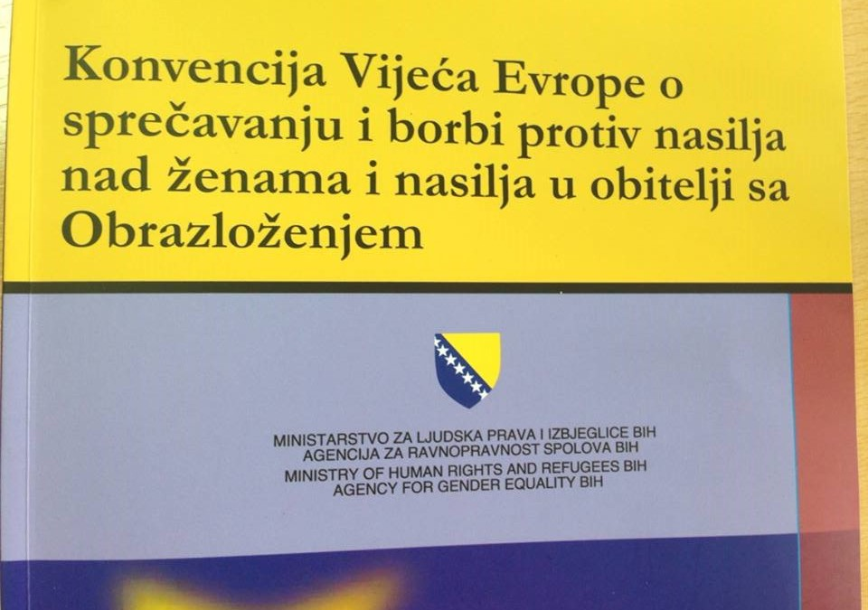 Usvojena Okvirna strategija za implementaciju Istanbulske Konvencije u BiH za period 2015-2018.