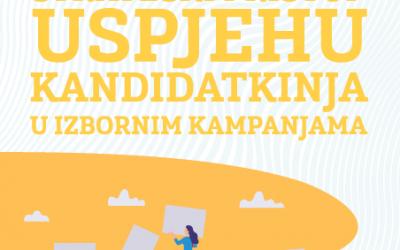 Brošura o Strateškom pristupu uspjehu kandidatkinja u izbornim kampanjama