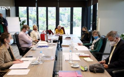 Sastanak Izvršnog tima za izradu Strategije za prevenciju i borbu protiv nasilja u porodici